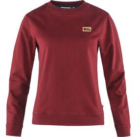Fjällräven Vardag Sweat-Shirt Femme, red oak